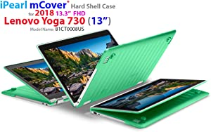 "mCover Hard Shell Case for New 2018 13.3"" Lenovo Yoga 730 (13) Laptop (NOT Compatible with Yoga 710/720 / 910/920 Series) (Yoga 730 Green)"