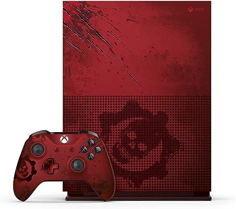 Xbox One S 2 TB Console - Gears Of War 4 Limited Edition Bundle [Importación Inglesa]: Amazon.es: Videojuegos