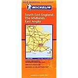 South East England, the Midlands, East Anglia (Michelin Regional Maps)