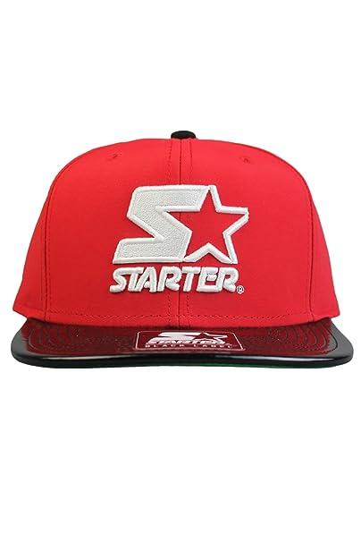 Starter - Cappellino da baseball - Uomo Rosso rosso  Amazon.it ... a1c6e1a12f55