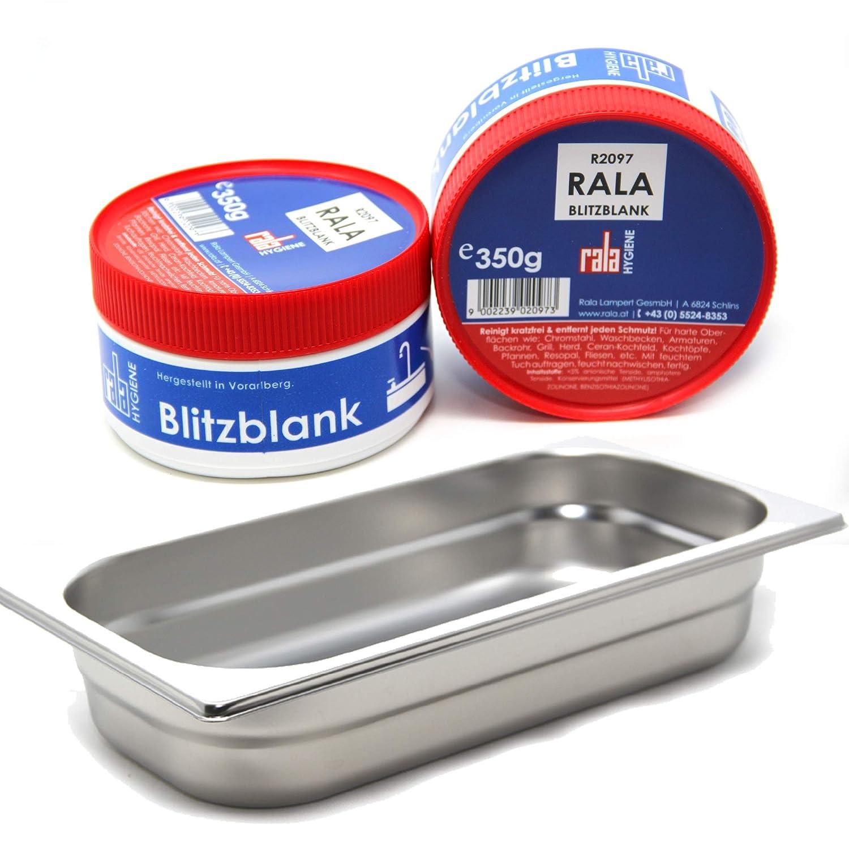 Miele Dampfgarbehälter DGG 2 + Rala Blitzblank 350 g MARETeam®