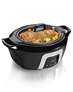 Hamilton Beach 33265 6-Quart Programmable Cool-Surround Slow Cooker