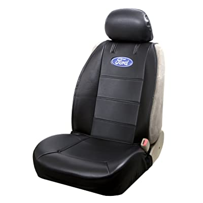 Plasticolor 008584R01 Ford Black Sideless Seat Cover: Automotive