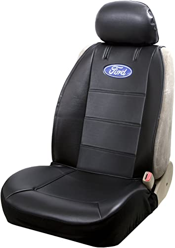 Plasticolor 008584R01 Ford Black Sideless Seat Cover