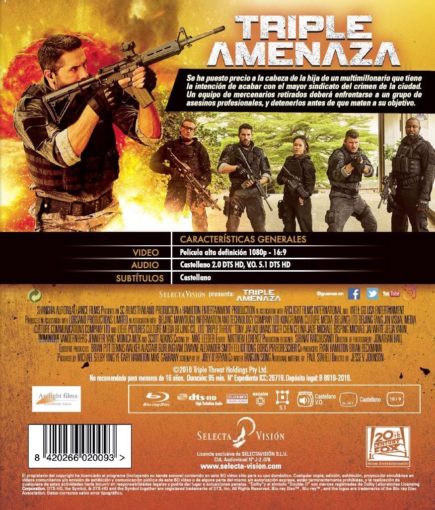 Triple Threat Blu-Ray [Blu-ray]: Amazon.es: Scott Adkins ...