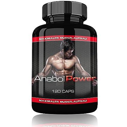 anabol Power – 120 Cápsulas – La para de repuesto esteroide/anabólicos