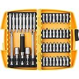 45PCS Screwdriver Bit Set,Security Dril Bit Extension,Electronic Device Repair Home Tools Bit