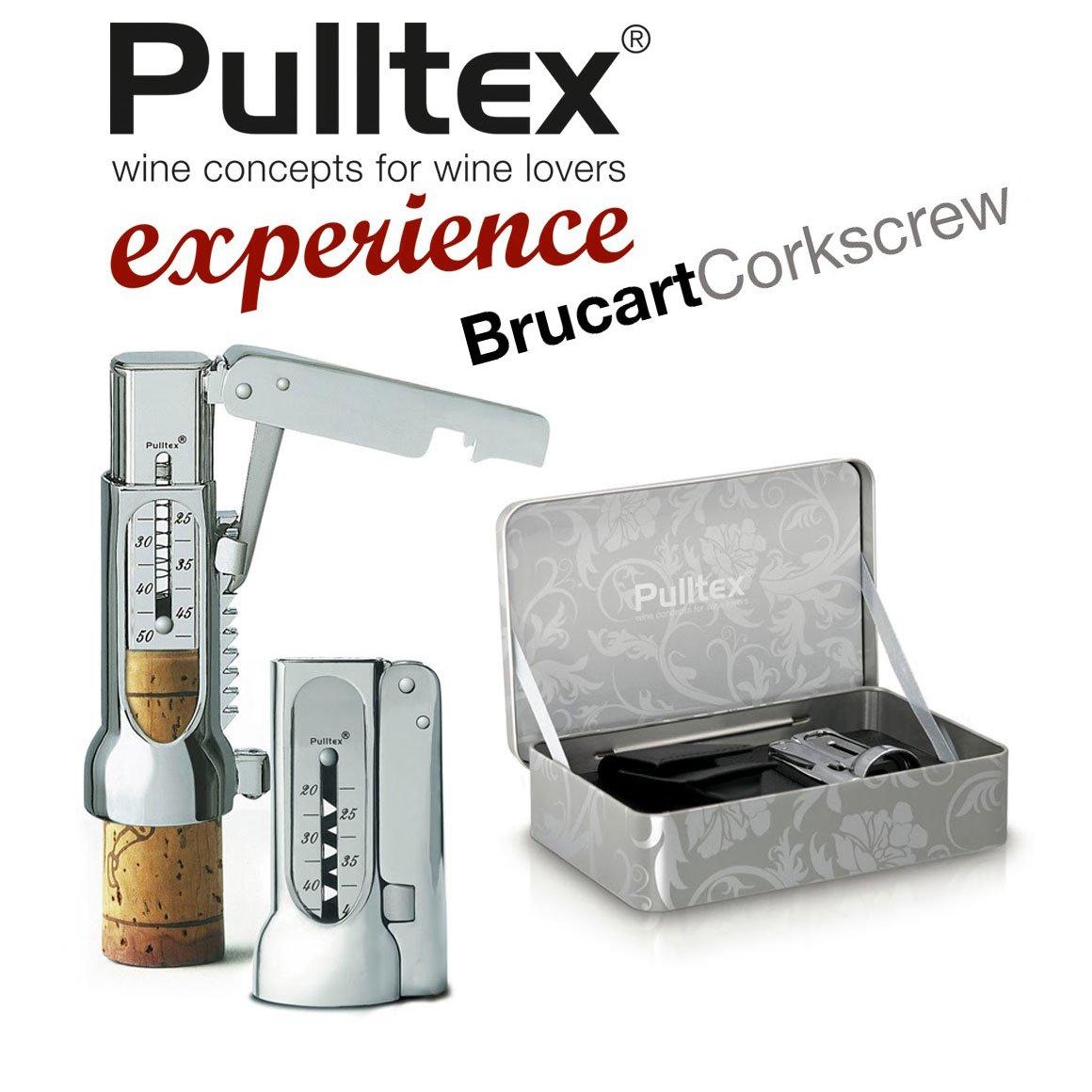 Pulltex Brucart Basic Korkenzieher verchromt mit Wagenhebermechanismus