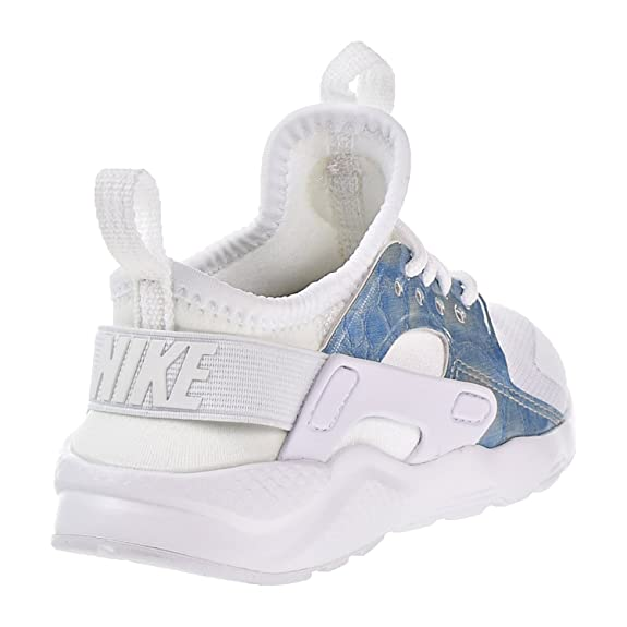 e8e2021fd73 Nike Girls' 859593-102 Trainers White White/Light Blue: Amazon.co.uk: Shoes  & Bags