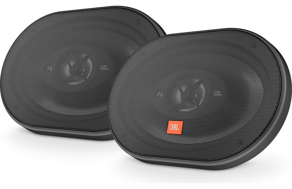 JBL Stage 9603 420W Max (140W RMS) 6'' x 9'' 4 ohms Stage Series 3-Way Coaxial Car Audio Speakers by JBL