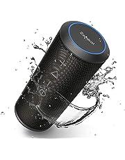 Wireless Bluetooth Lautsprecher Subbass Leistungsstarker 20 Watt Wireless 360° Sound Bluetooth Speakers V4.2 mit Wasserfest Stoßfest Mikrofon und Reinem Bass Zamkol