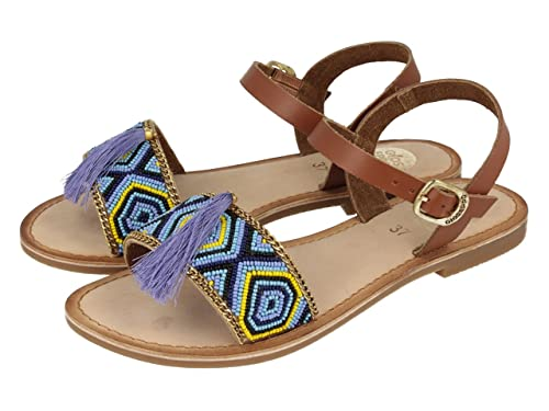 Gioseppo Comanche Sandalias para Mujer, Color Azul, Talla