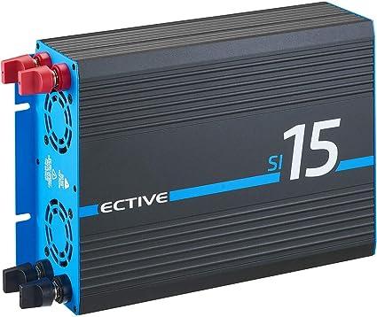 Ective 1500w 12v Zu 230v Sinus Wechselrichter Si 15 Spannungswandler Mit Reiner Sinuswelle Power Inverter In 7 Varianten Auto