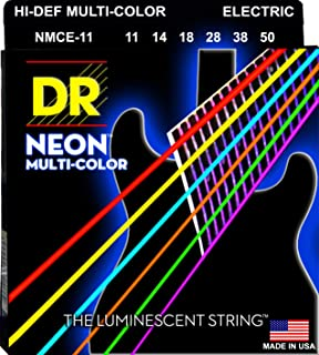 DR Strings K3 NEON Hi-Def GREEN NGE7-10 ELECTRIC SEVEN STRING SET