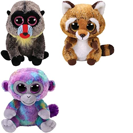 Amazon.com  TY Beanie Babies Wasabi the Baboon 1b224f0c63e