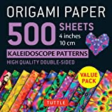 Origami Paper 500 sheets Kaleidoscope Patterns: 4 inches (10 cm)
