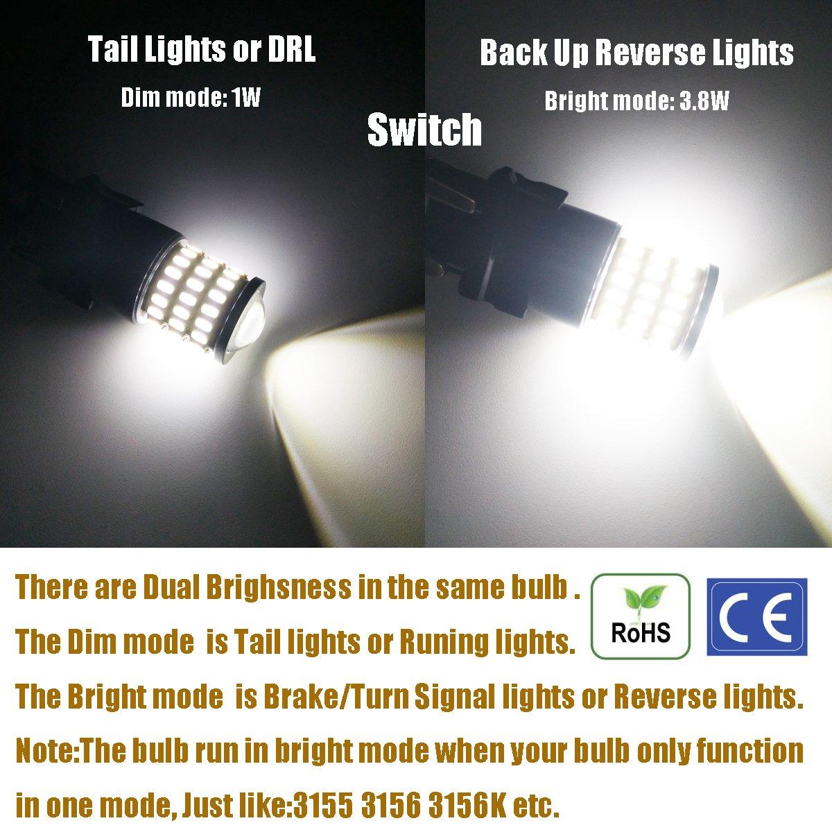 Bulbs Xenon White iBrightstar Newest 9-30V Super Bright Low Power ...