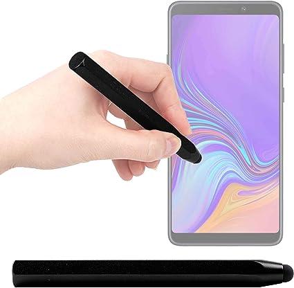 DURAGADGET Lápiz Stylus Negro para Smartphone Samsung Galaxy A9 ...
