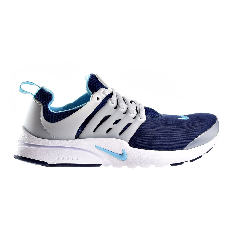 Nike Presto GS Youth Kids Running Shoe  6 M US Big Kid|Binary Blue/Pure Platinum/White/Vivid Sky