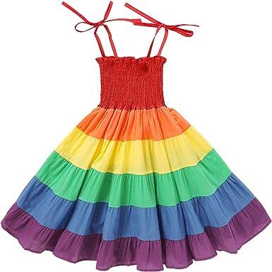 Casual Toddler Kids Baby Girl Halter Backless Tutu Dress Sundress Summer Clothes