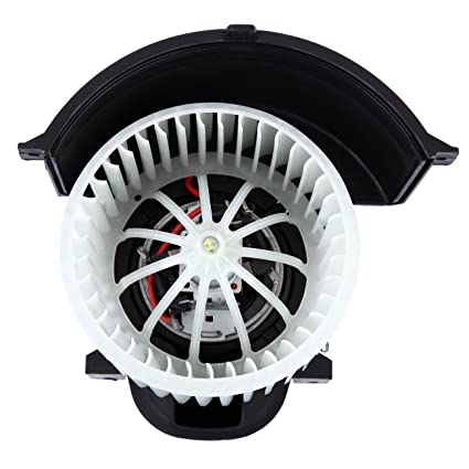 Honhill Front Heater Blower Motor for Porsche Cayenne Audi Q7 Volkswagen Touareg with Cage