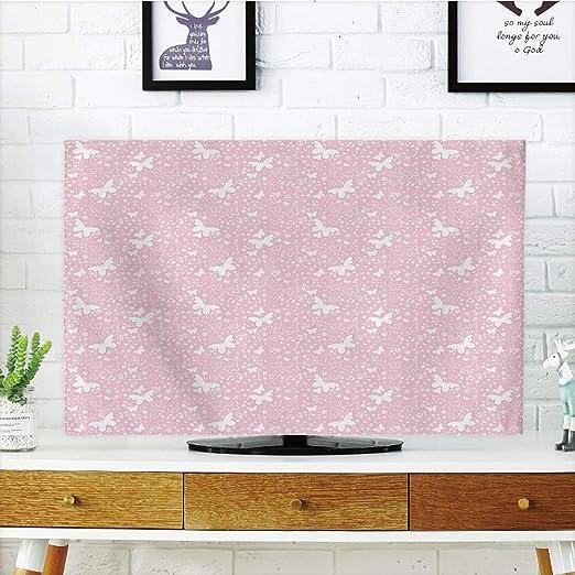 iprint Funda para televisor LCD, diseño de Mariposa, Mariposa ...