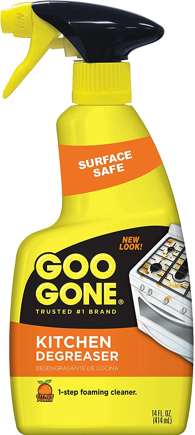 Goo Gone Kitchen Degreaser - Removes Kitchen Grease, Grime and Baked-on Food