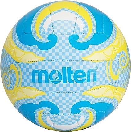 MOLTEN Volleyball - Balón de Voleibol para Exterior (Cuero ...