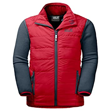 new specials nice cheap hot sale online Jack Wolfskin 3-in-1 jacket Glendale, Ruby Red, 116, 1606331 ...