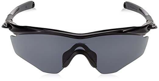 59395b91948 Amazon.com  Oakley Men s M2 Frame Sunglasses Black Grey  Oakley  Clothing