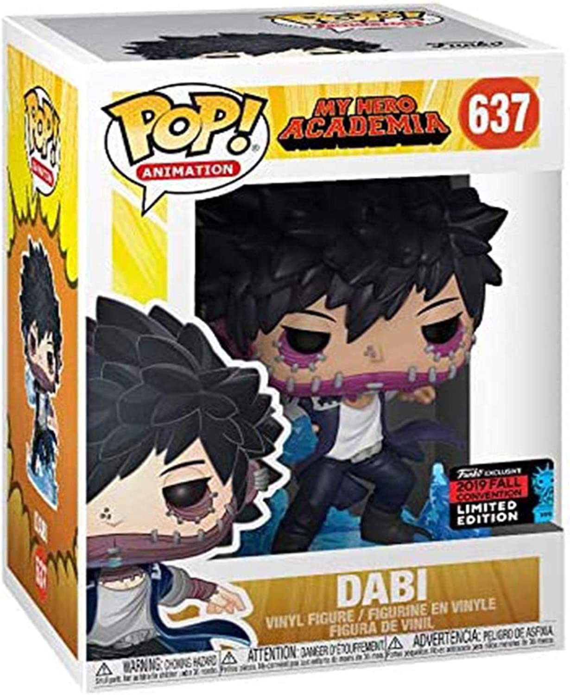 Qwead Pop My Hero Academia Deku En Onesi Dabi con Caja Colecci/ón De Juguetes Figura De Acci/ón Modelo De Juguete para Ni/ños