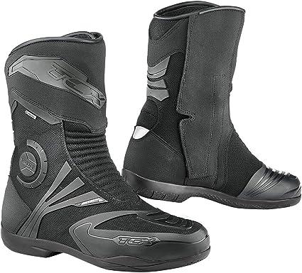 TCX Bottes Moto Airtech Evo Gore tex, Noir, Taille 46