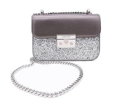 87f1fe1dab0f0 Chain Purse Evening Bag Small Shoulder Crossbody Bag for Women Glitter Purse  Clutch(sliver)