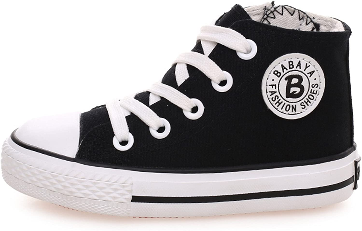 Kids Shoes for Girl Children Canvas Shoes Boys Sneakers Girls Shoes White High Solid Children Shoes
