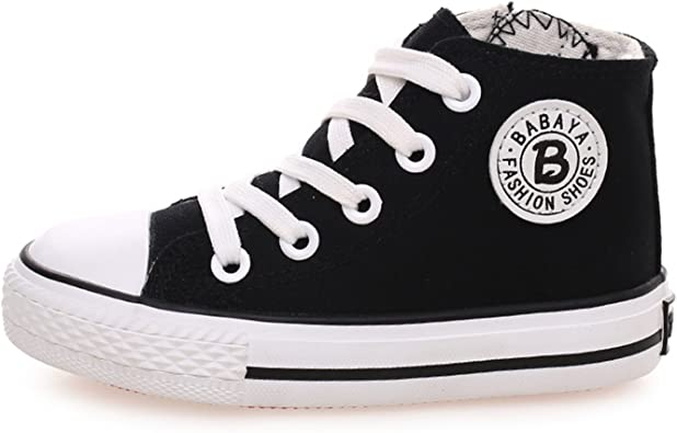 girls white canvas shoes