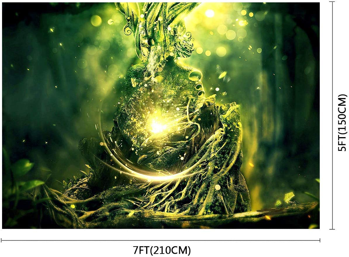 10x8ft Background Magical Plant Photography Backdrop Studio Fairytale Photo Props LHFU005