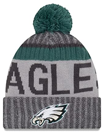 the best attitude 6bd58 f9790 New Era Men s NFL17 Sport Knit Philadelphia Eagles Gray One Size Fits All