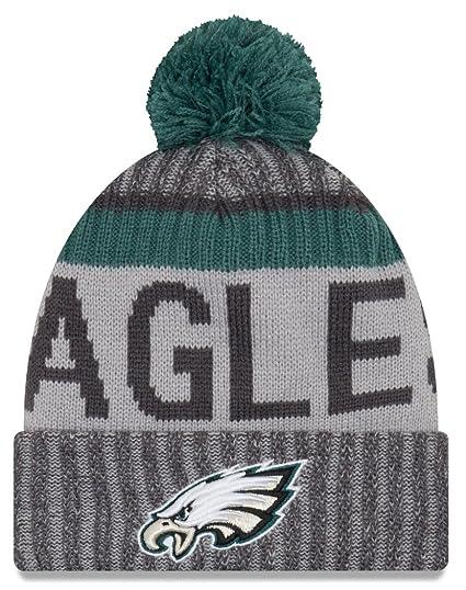 771b91ca2cb New Era Men s NFL17 Sport Knit Philadelphia Eagles Gray One Size Fits All  at Amazon Men s Clothing store