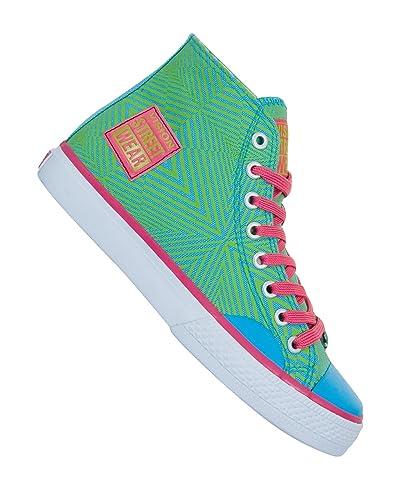 429a0e2ba89 Vision Streetwear Canvas Hi Shoes girl parrot green 6