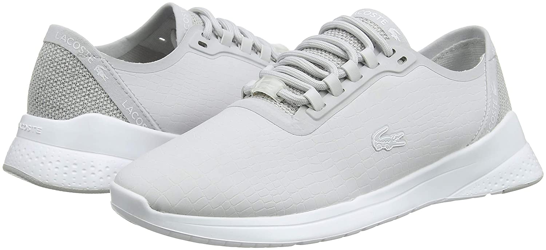 Lacoste Sneaker Damen Lt Fit 318 3 SPW Sneaker Lacoste Grau (Lt Gry/Wht 2q5) b5216e