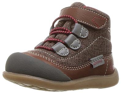 size 40 1c754 9e45b See Kai Run Boys  Sam WP Hiking Boot, Brown, 4 M Toddler