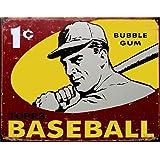 Desperate Enterprises 1959 Topps Baseball Collectible Metal Sign, Model# 1404 , 16x13