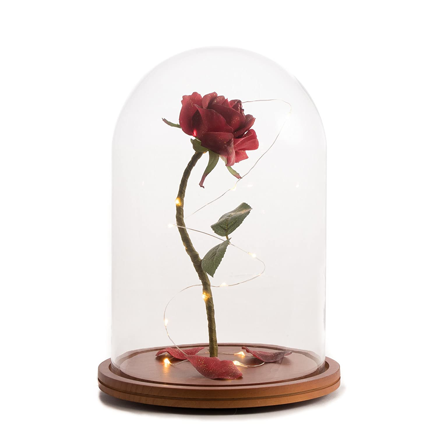 Amazon Life Sized 13 Enchanted Rose That Lasts Forever In