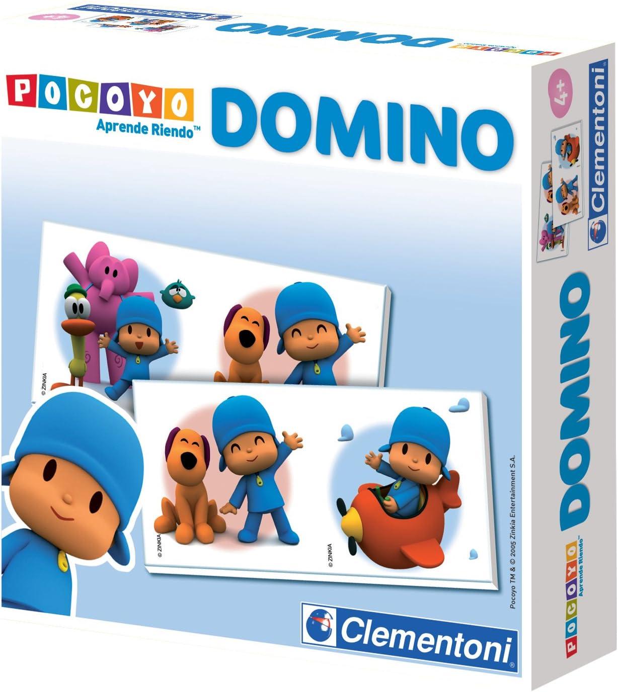 Clementoni- Domino Pocoyo: Amazon.es: Juguetes y juegos