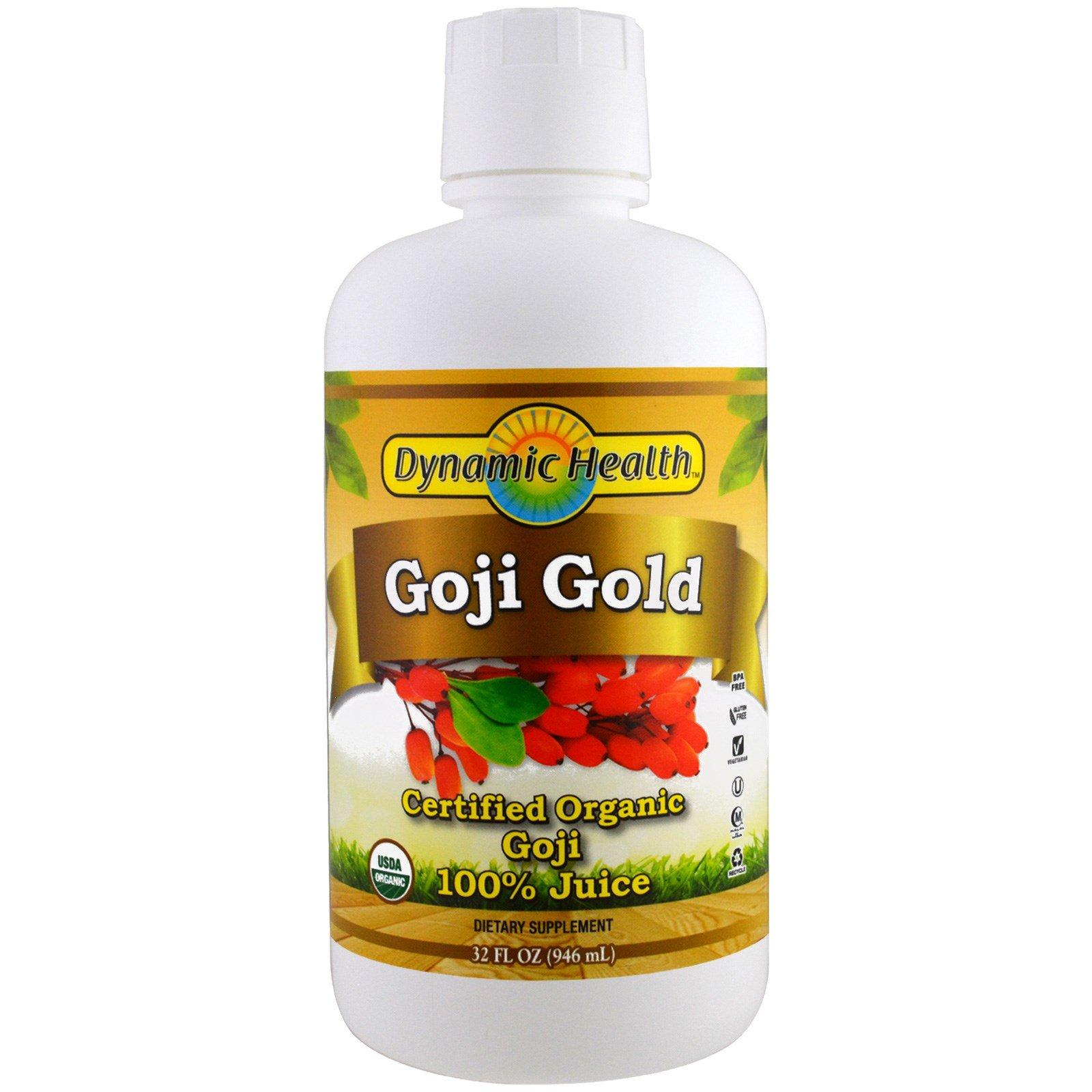 Dynamic Health Goji Juice Blend, 16-Ounce