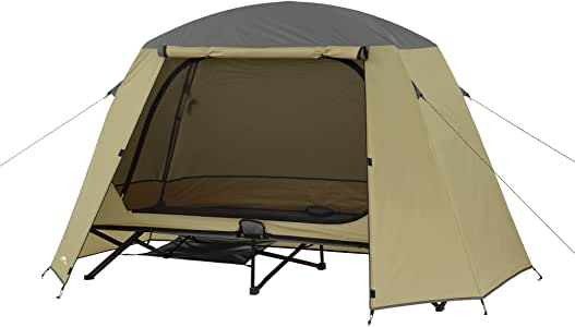 Amazon Com Ozark Trail One Person Cot Tent Sports Amp Outdoors