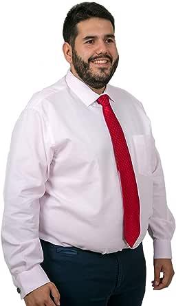 Camisas Hombre Tallas Grandes Manga Larga, Camisas Estampadas, Camisas de Rayas, Camisas de Puntos, Varios Modelos y Colores, 21H: Amazon.es: Ropa y accesorios