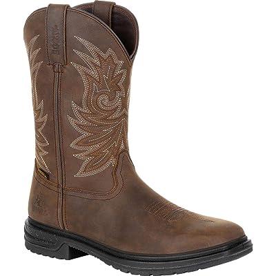 "ROCKY Worksmart 11"" Composite Toe Waterproof Western Boot | Western"