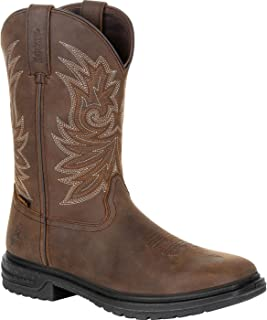 "product image for Rocky Worksmart 11"" Waterproof Western Boot"