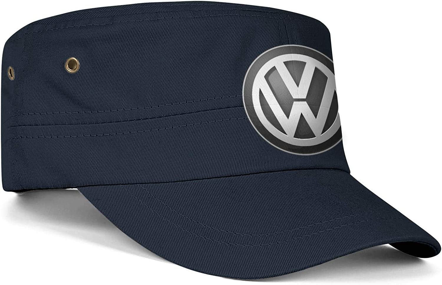 QFPMZJUIE Volkswagen-Logo Mens Woens Hats Snapback Military Cap Dad Hat Adult Caps